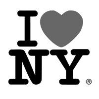 iloveny logo Logo design: beautiful black & white logos