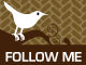 twitter herringbone1 35 Follow me on Twitter badges / buttons