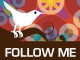 twitter rug 35 Follow me on Twitter badges / buttons