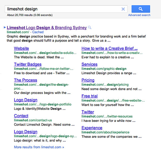 extended sitelinks1 Google's new extended sitelinks: What do they mean for your business