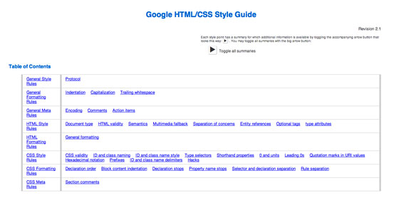 Google Code Guidelin title=