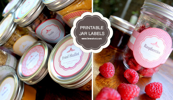 thumb Free Printable Mason Jar Labels