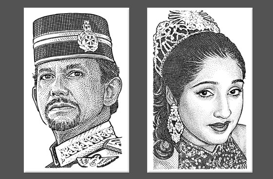 nolinovak 10 10 Amazing Stipple Portraits by Noli Novak