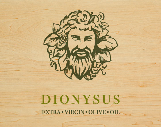 dionysus logo design illustration