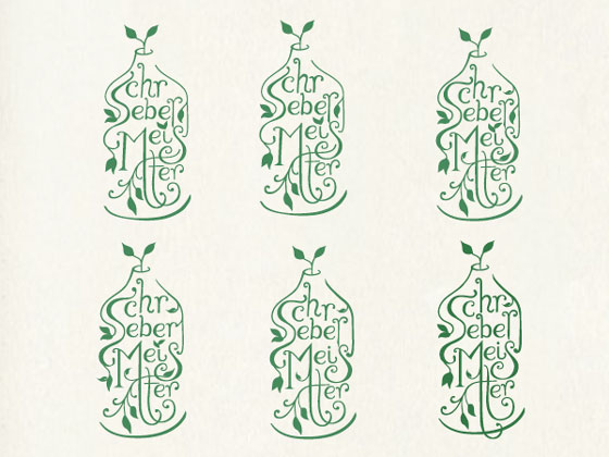 6 Garden in a Bottle   Logo Design Process